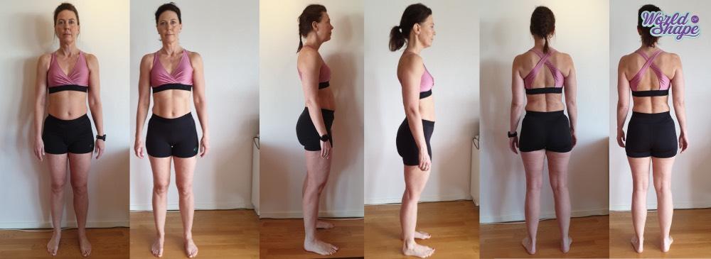 Marias fantastiska resultat med Fitnessfighten