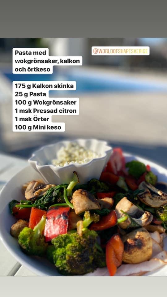 Emma kör Fitnessfighten och gillar våra kalorisnåla, nyttiga och lättlagade recept
