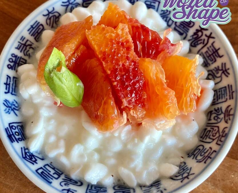 Low-calorie recipe, orange and cottage cheese with a twist