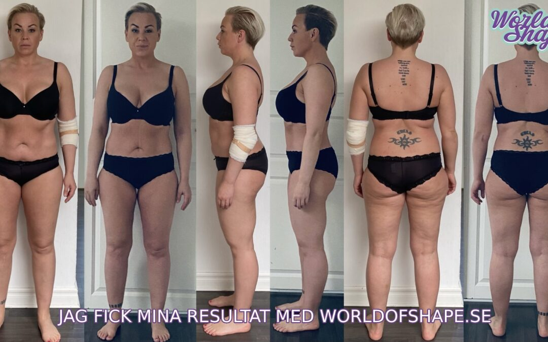 Josefina's results in just 30 days with Fitnessfighten: