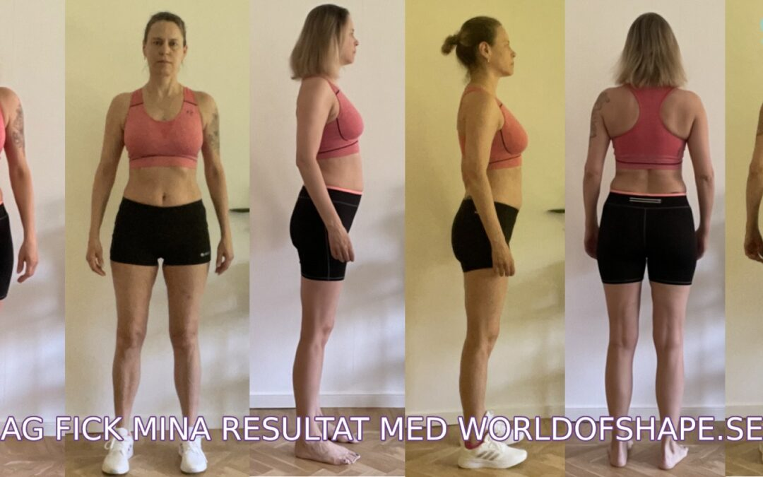 Veronika's results in just 30 days with Fitnessfighten:
