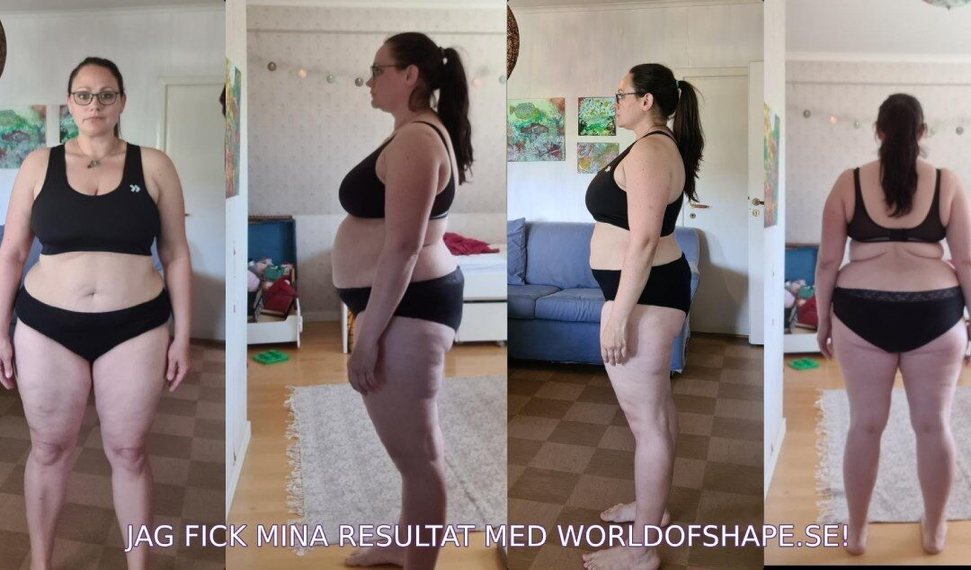 Sandra's results in just 30 days with Fitnessfighten:
